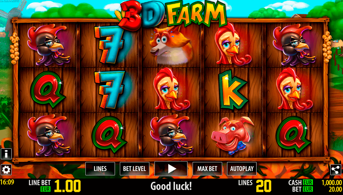 d farm hd world match gokkast