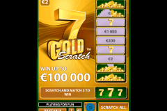 gold scratch netent krasloten