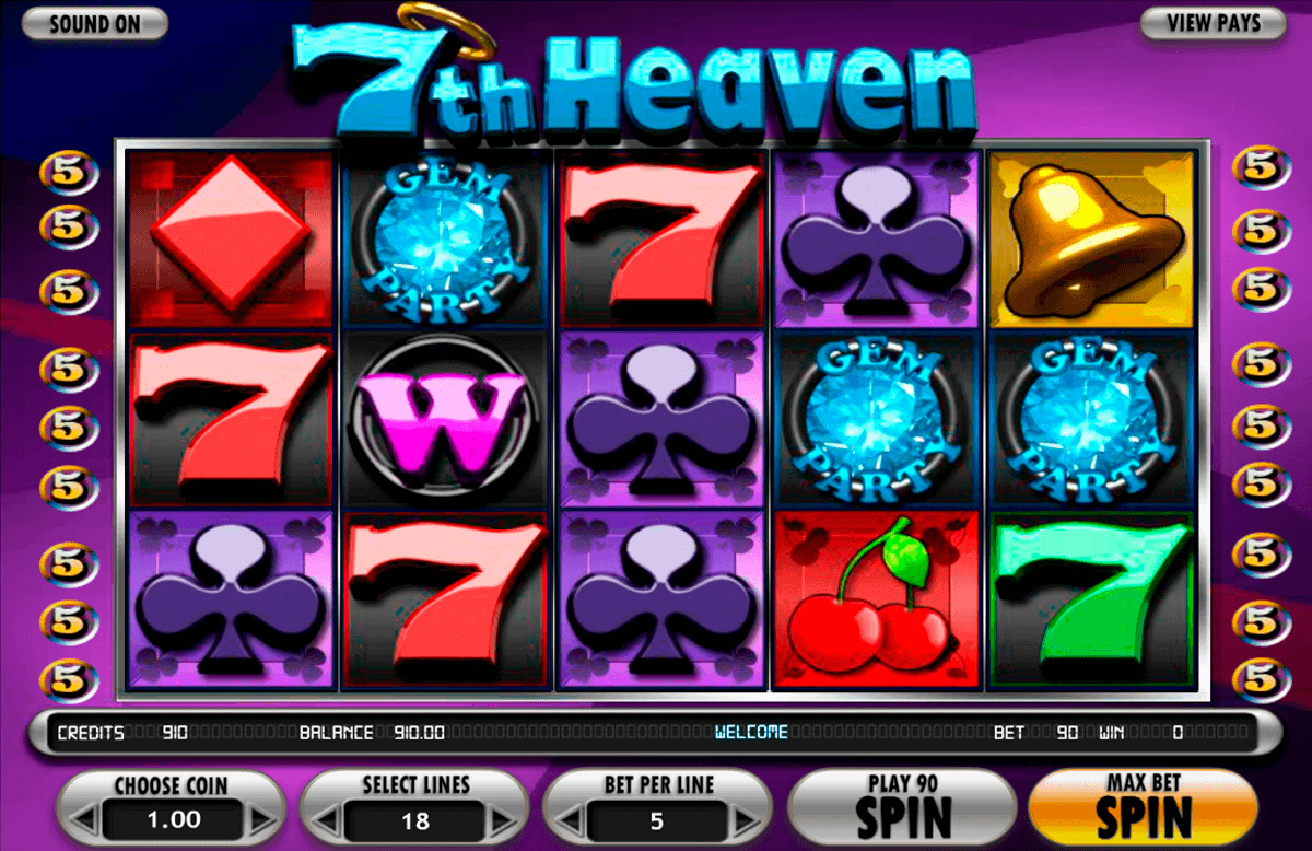 7th Heaven Slot Machine Online ᐈ BetSoft™ Casino Slots