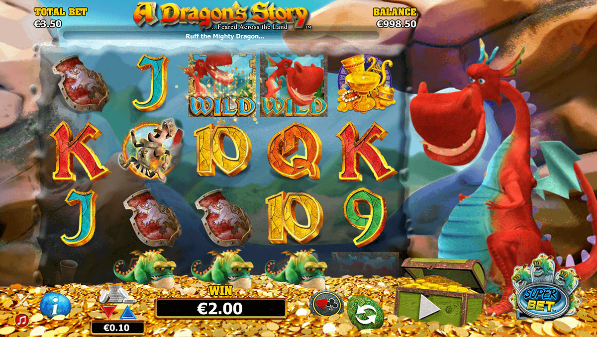 a dragons story netgen gaming gokkast