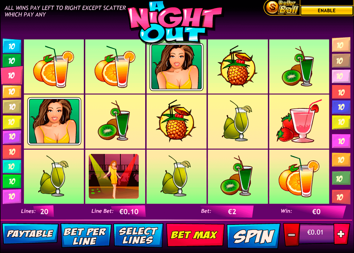 A Night Out kostenlos spielen | Online-Slot.de