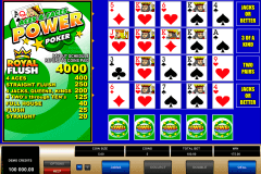 aces and faces  play power poker microgaming