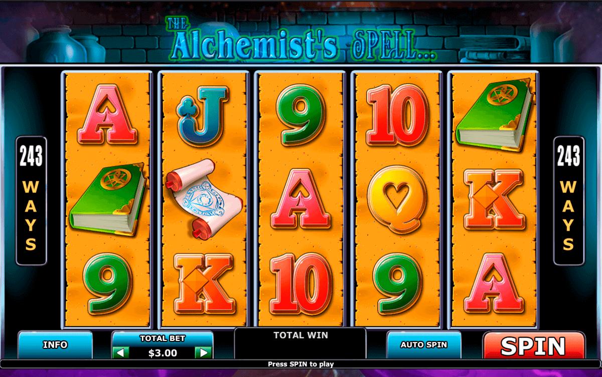 alchemists spell playtech gokkast