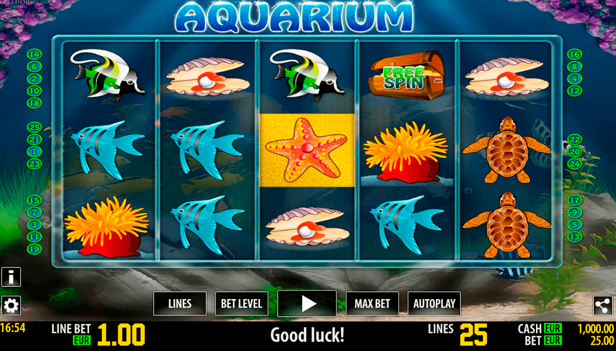 aquarium hd world match gokkast