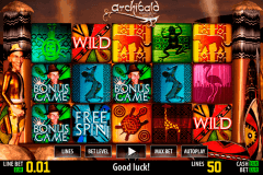archibald africa hd world match gokkast