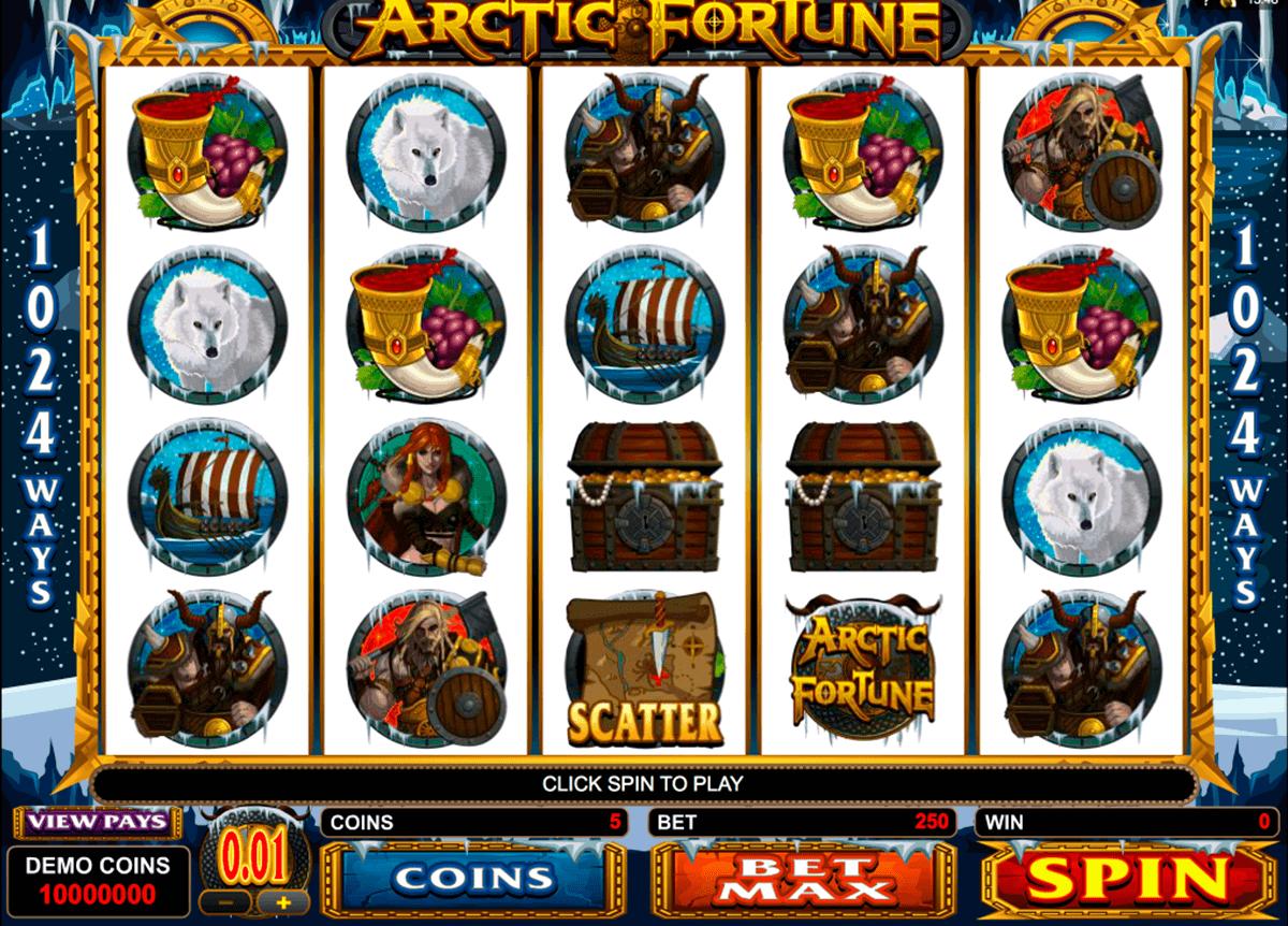 arctic fortune microgaming gokkast