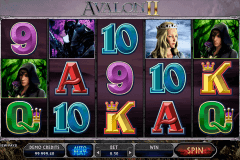 avalon ii microgaming gokkast