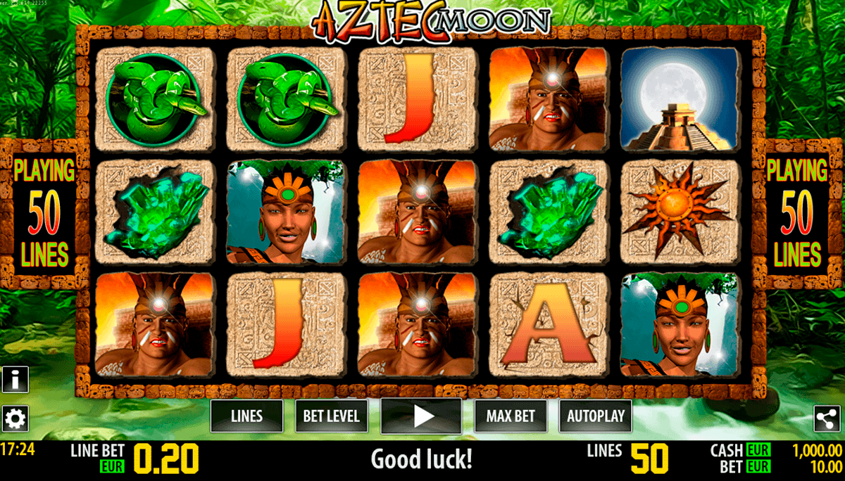 aztec moon hd world match gokkast