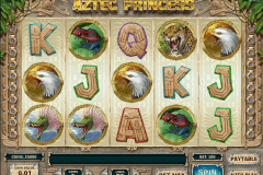 aztec princess playn go gokkast