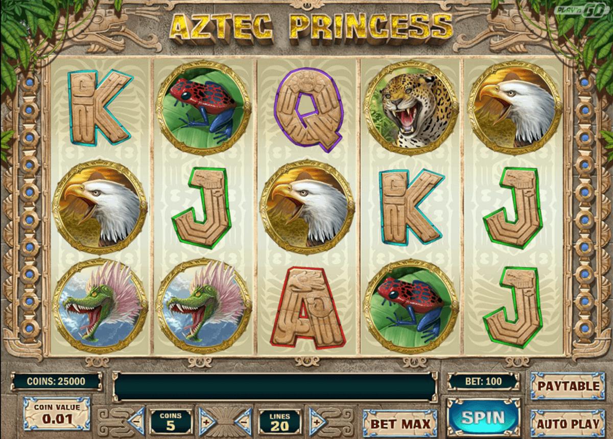 aztec princess playn go gokkast