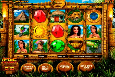 aztec treasures betsoft