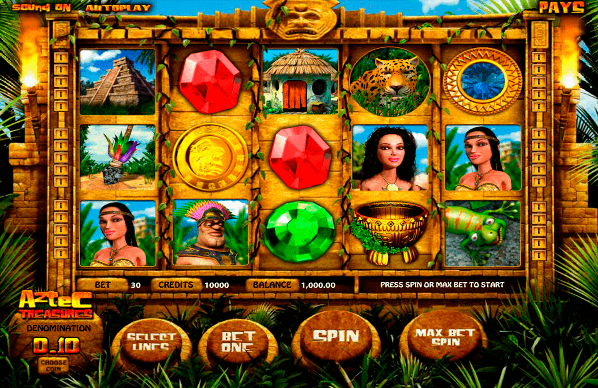aztec treasures betsoft gokkasten