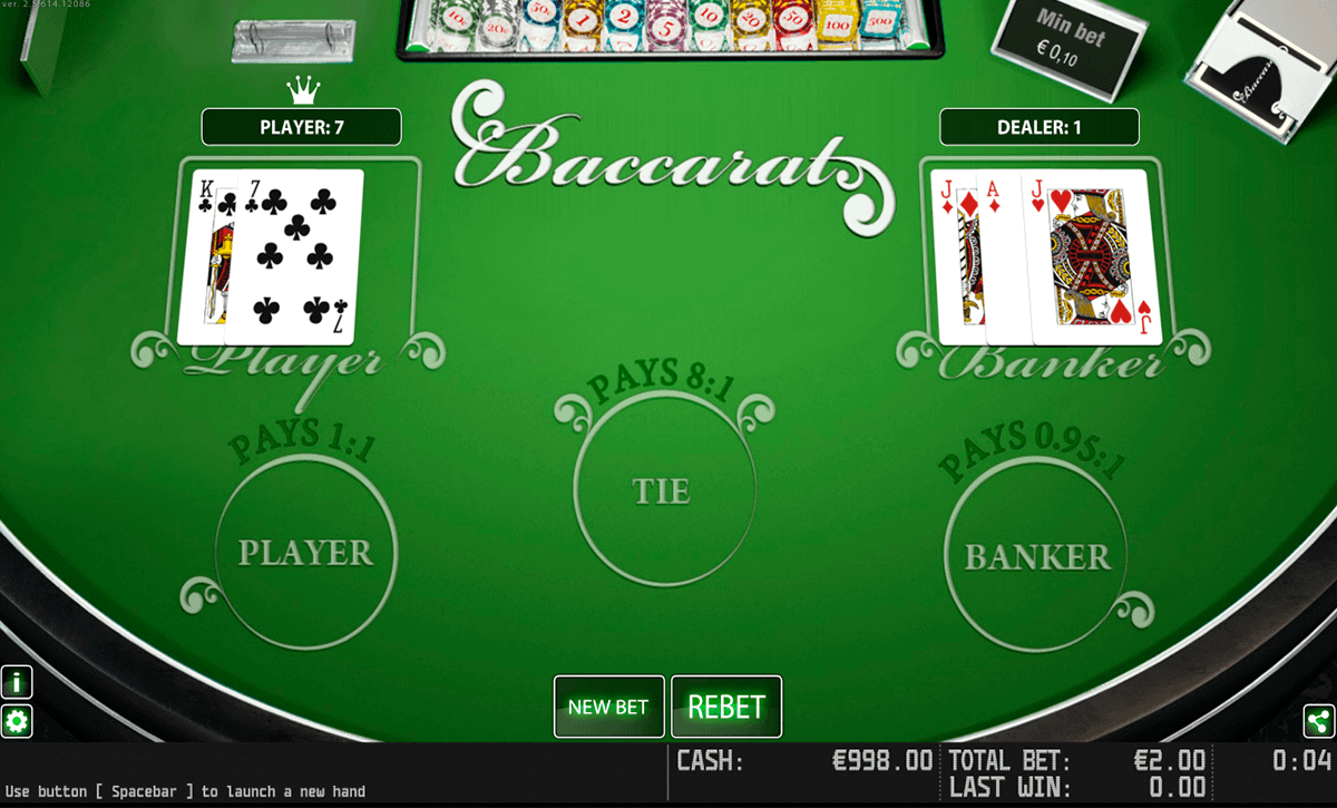 baccarat hd world match