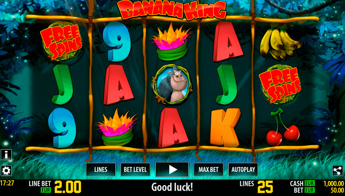 banana king hd world match gokkast