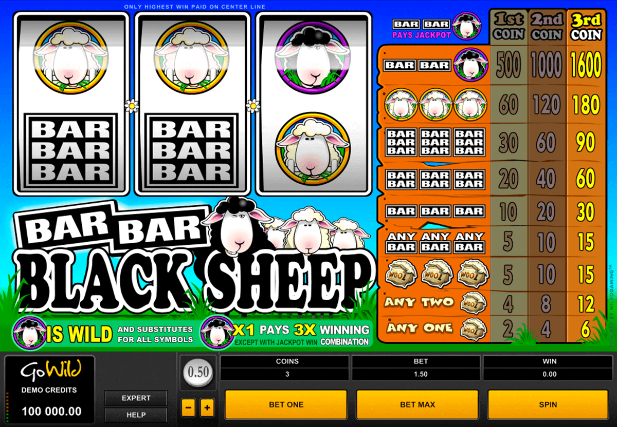 barbarblack sheep microgaming gokkast