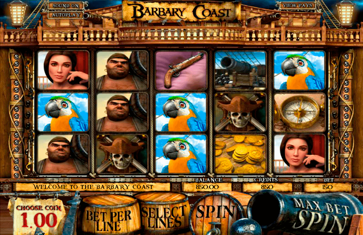 barbary coast betsoft gokkasten