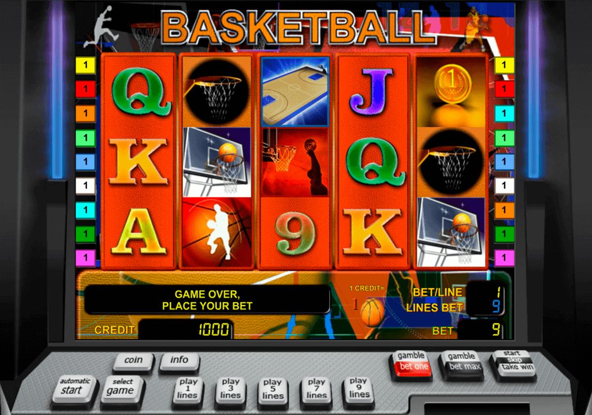 basketball novomatic gokkast