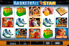 basketball star microgaming gokkast