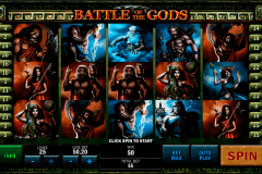 battle of the gods playtech gokkast