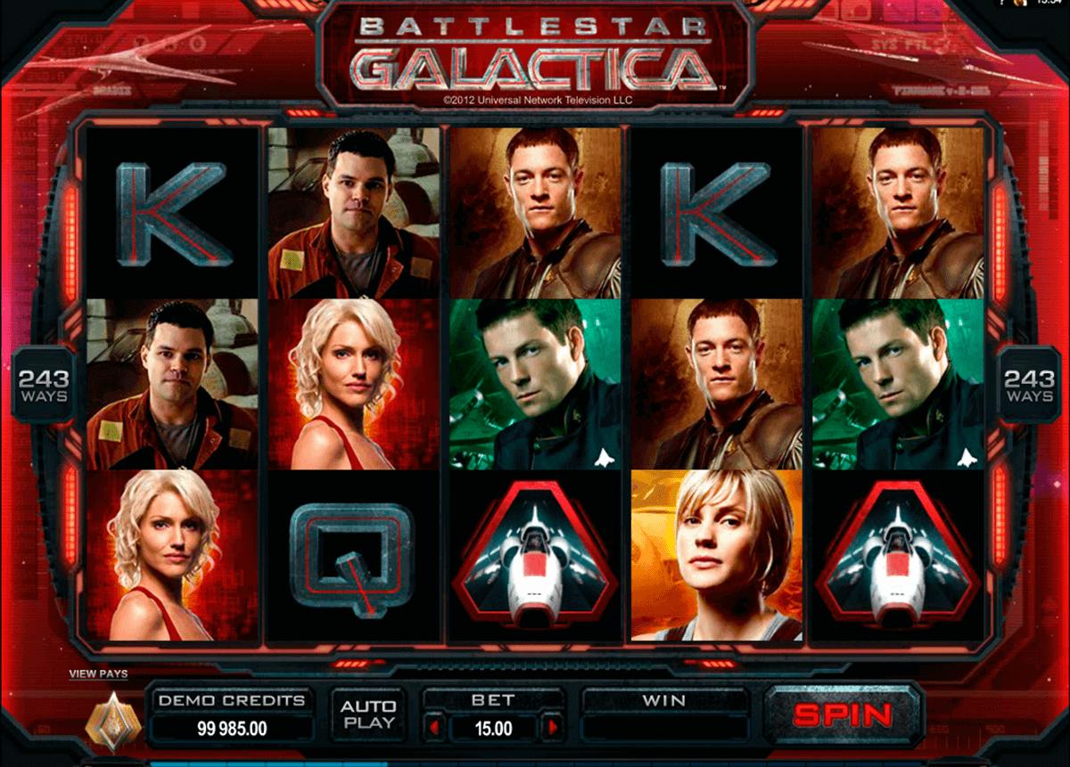 battlestar galactica microgaming gokkast