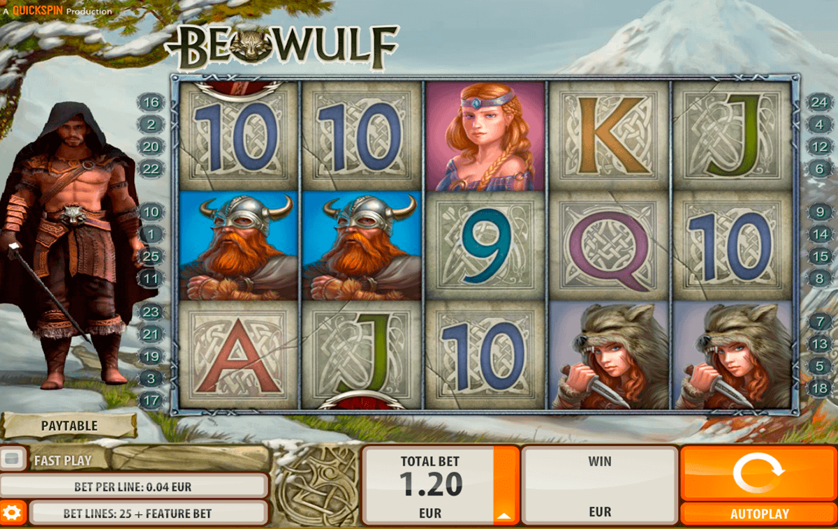 beowulf quickspin gokkast