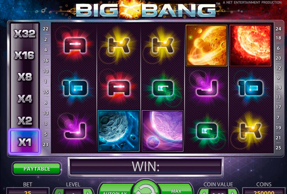 big bang netent gokkast