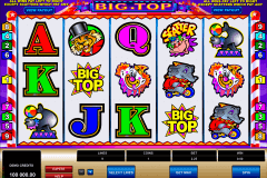 big top microgaming gokkast