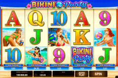bikini party microgaming gokkast