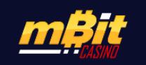 Logo of mBit casino