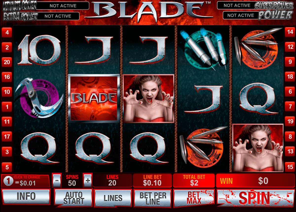 blade playtech gokkast