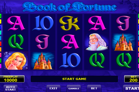 book of fortune amatic