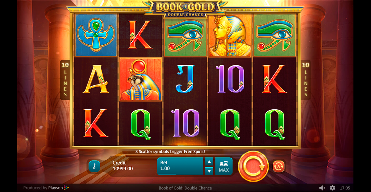 book of gold double chance playson