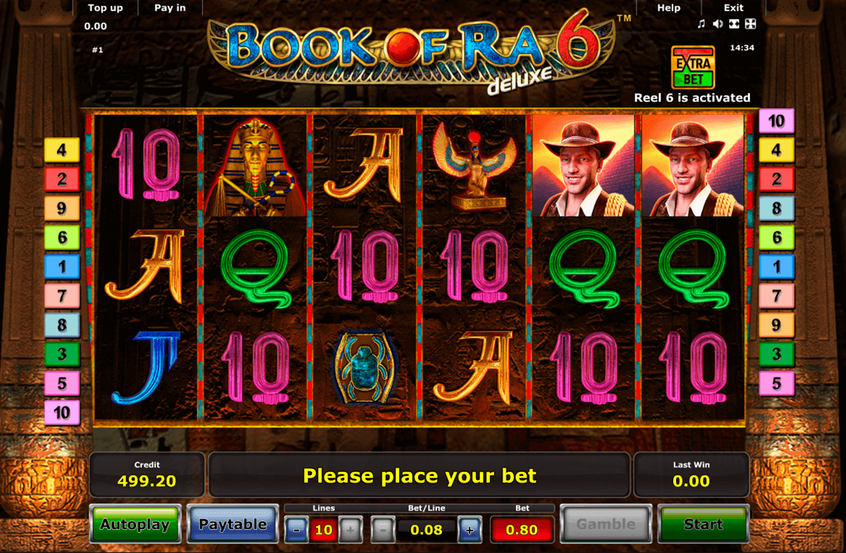Online Casino Test Book Of Ra
