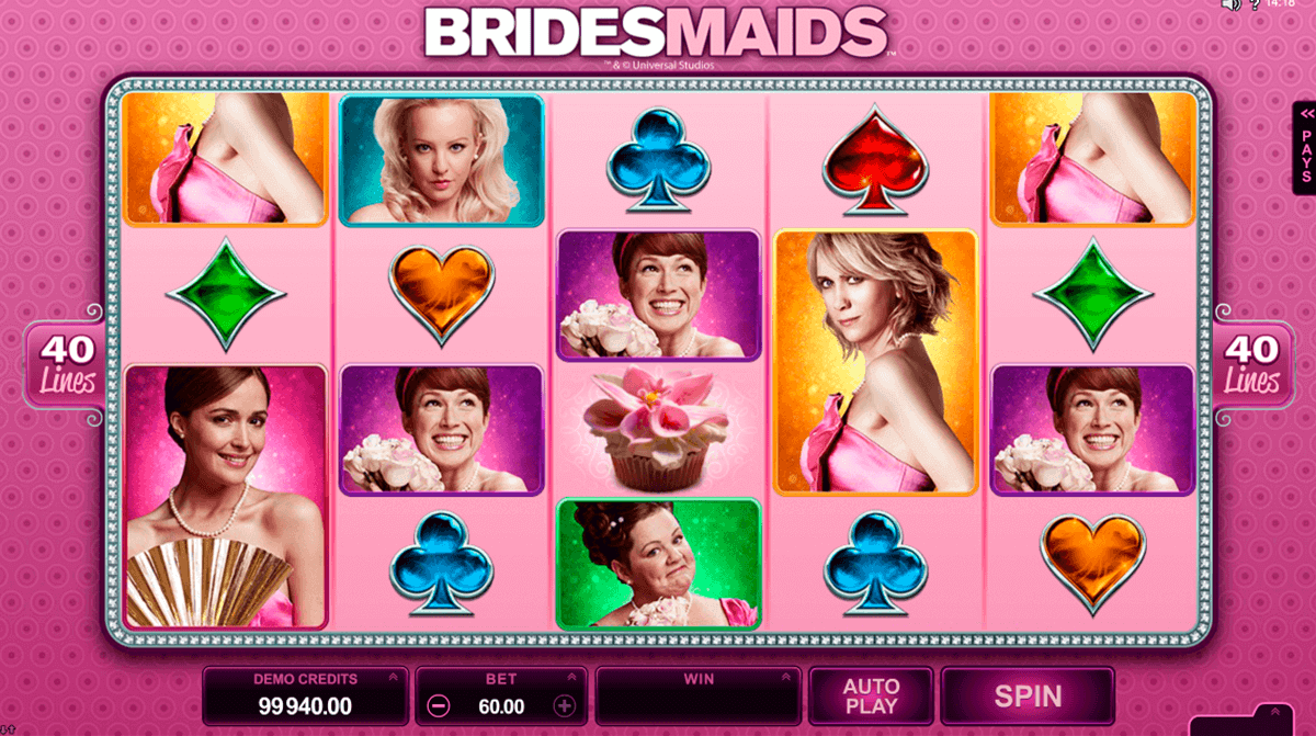 bridesmaids microgaming gokkast