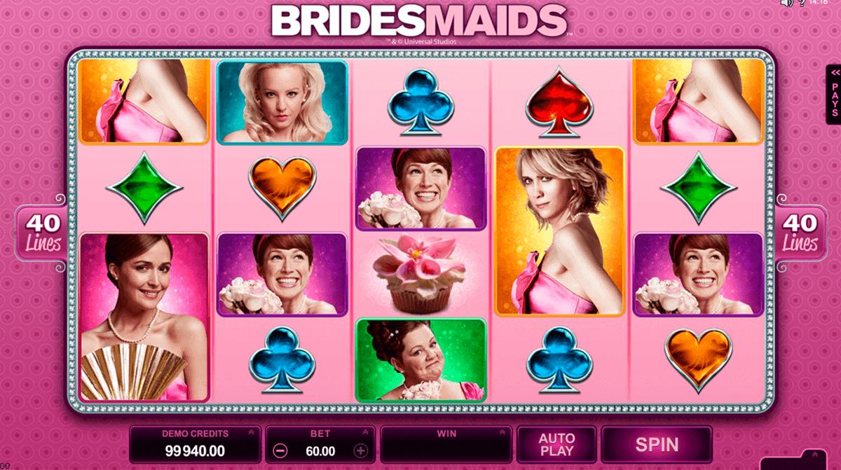 bridesmaids microgaming gokkast