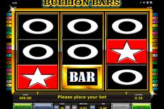 bullion bars novomatic gokkast