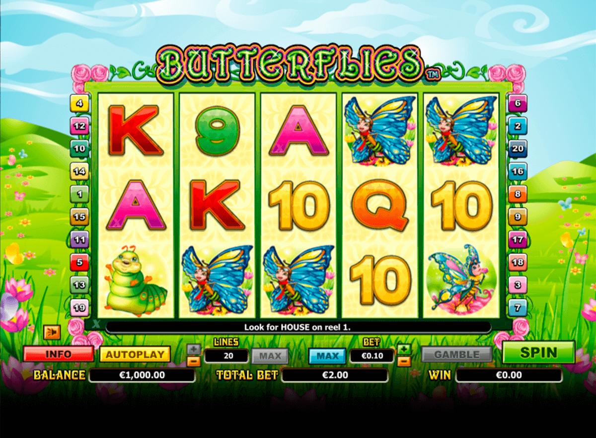 butterflies netgen gaming gokkast