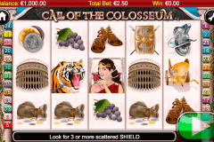 call of the colosseum netgen gaming gokkast