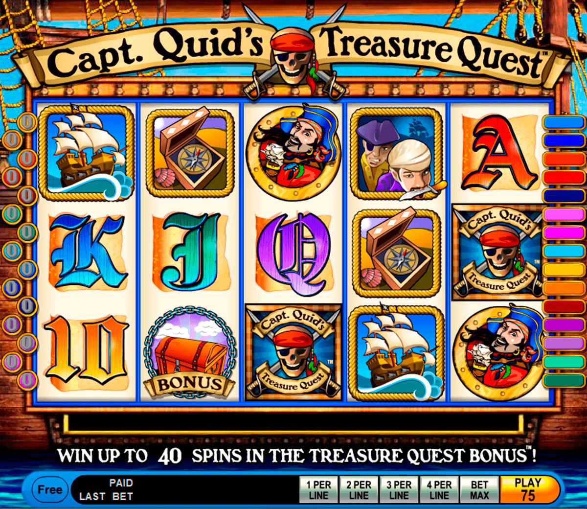 capt quids treasure quest igt gokkast
