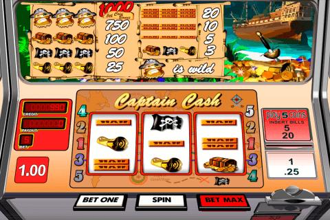 captain cash betsoft