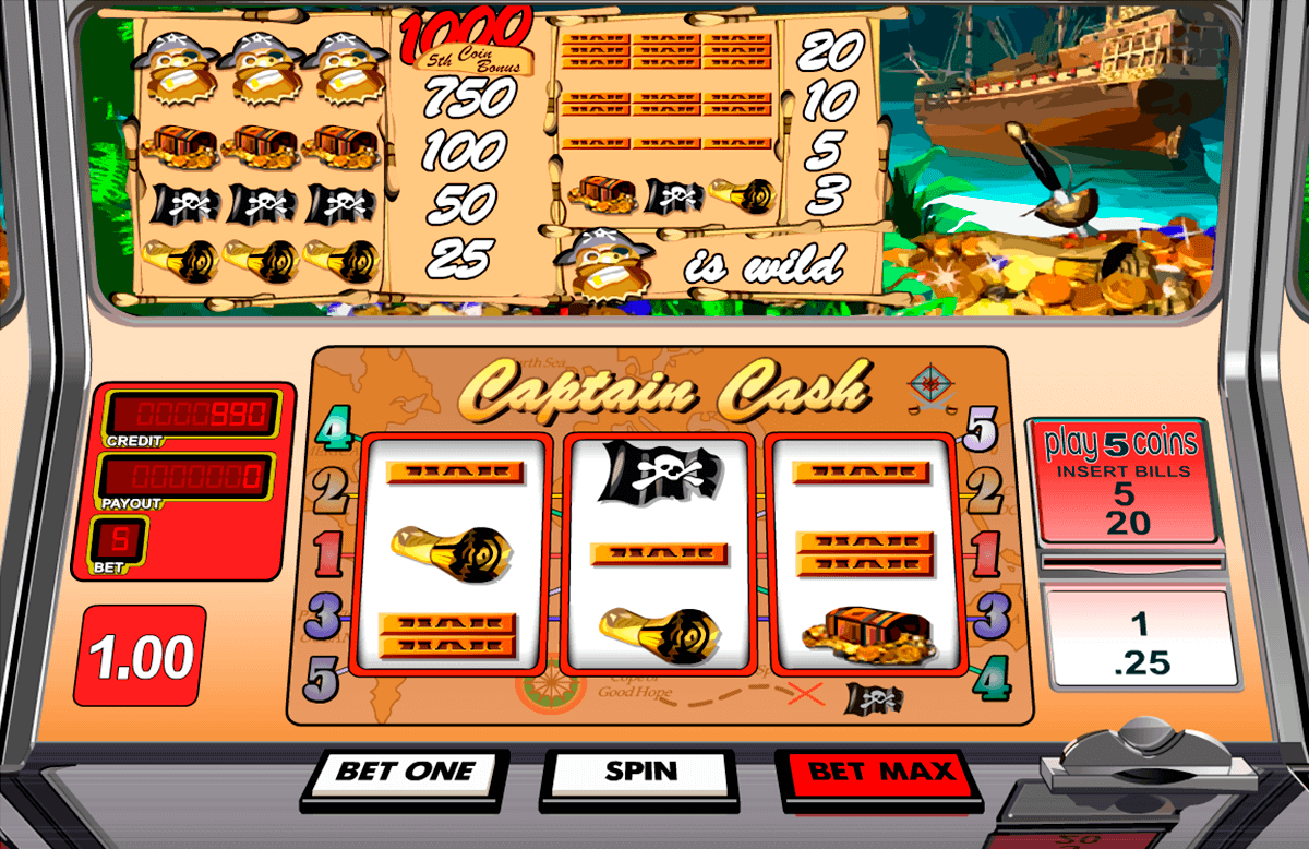captain cash betsoft gokkasten