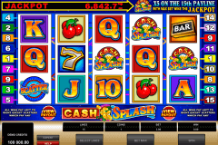 cashsplash video slot microgaming gokkast