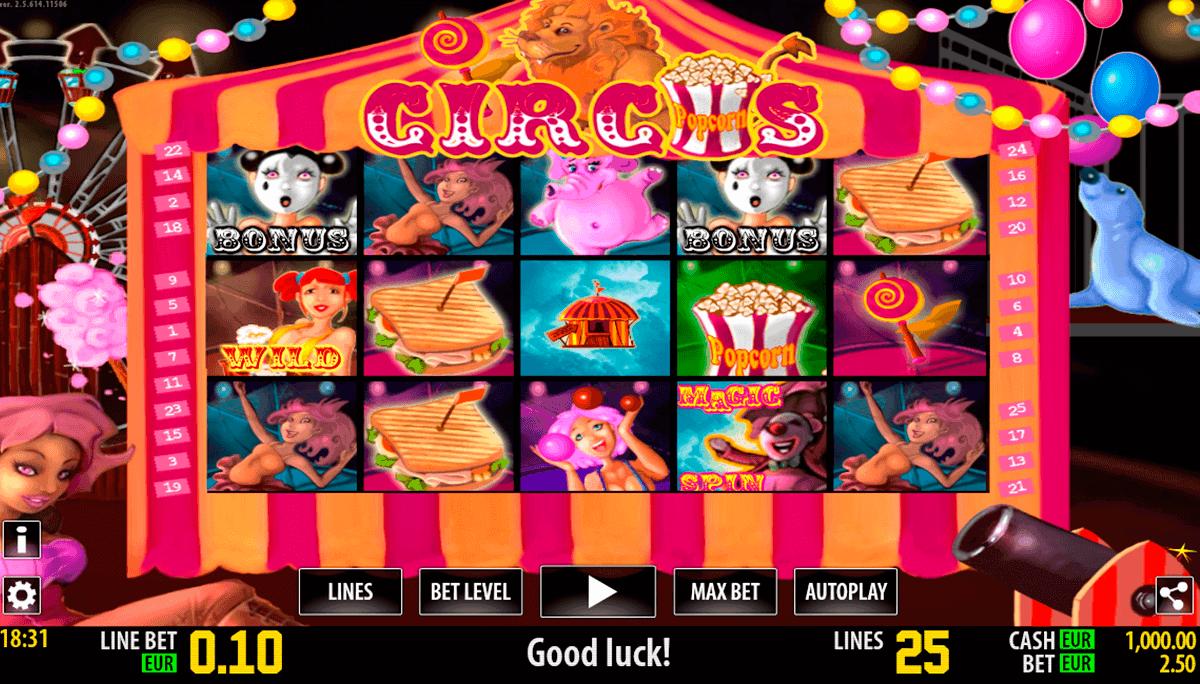 circus hd world match gokkast