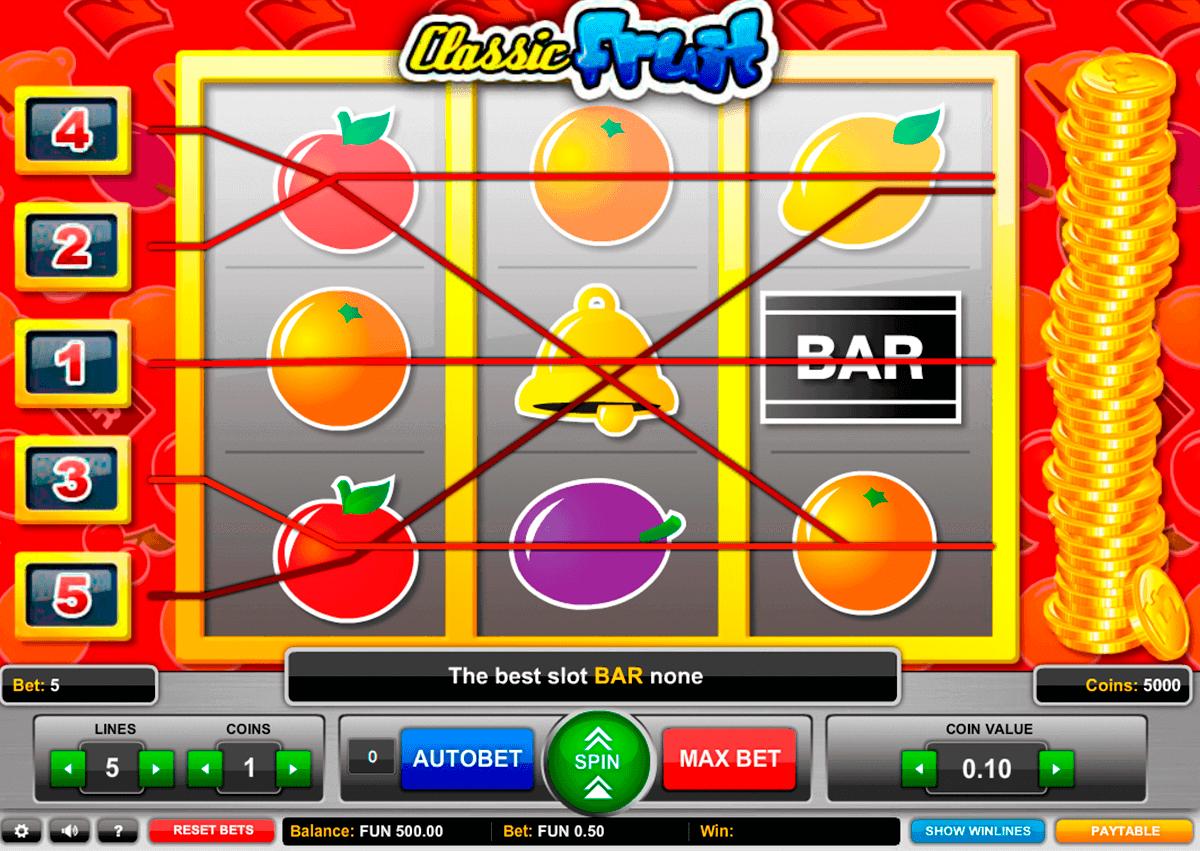 classic fruit gaming gokkast