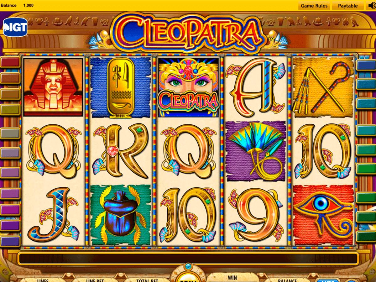 cleopatra igt gokkast