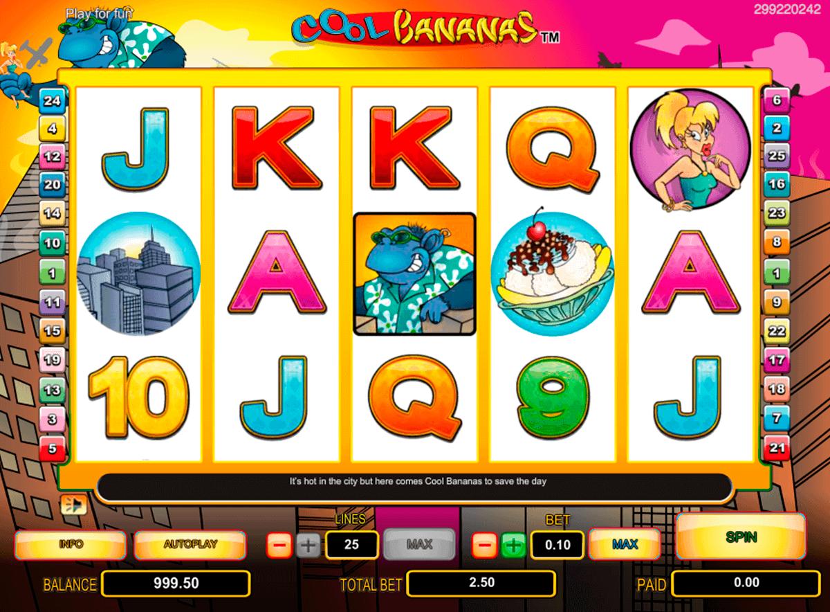 cool bananas netgen gaming gokkast