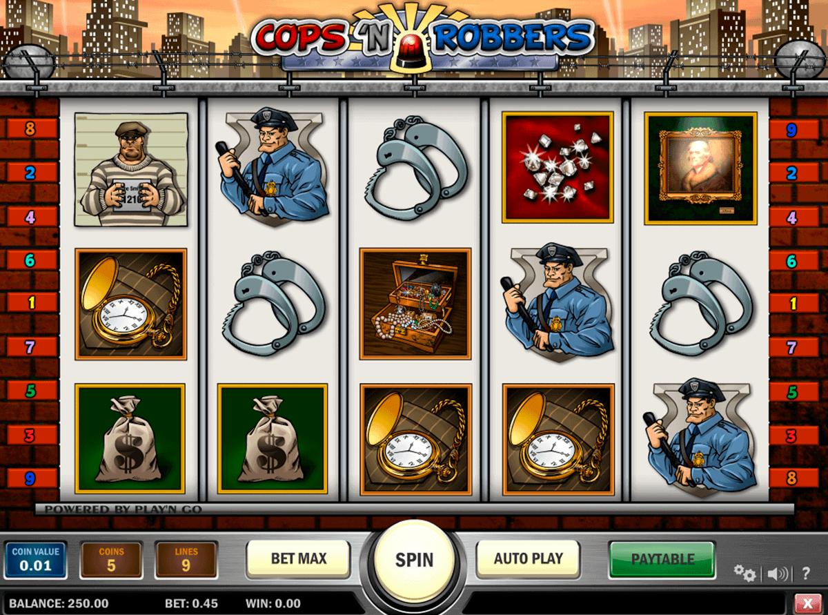 cops n robbers playn go gokkast