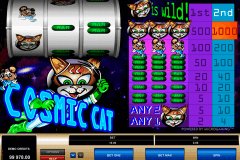 cosmic cat microgaming gokkast