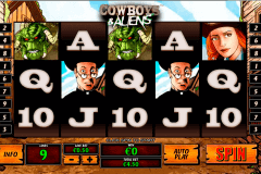 cowboys and aliens playtech gokkast