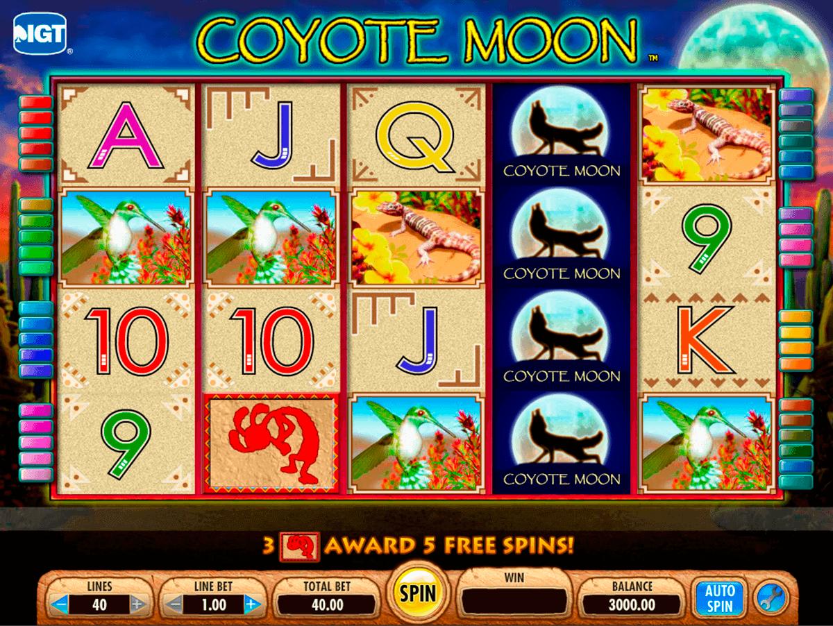 coyote moon igt gokkast
